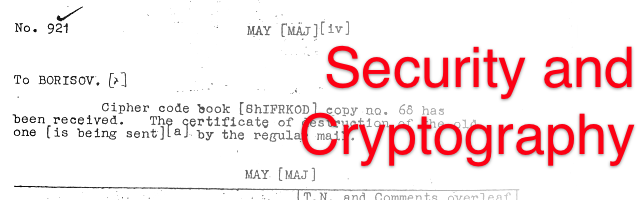 cryptography research papers ieee membership